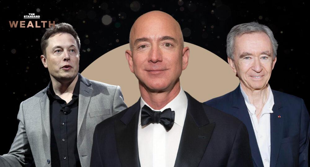 ใครเป็นใครใน 10 อันดับมหาเศรษฐี 'รวยที่สุด' ของโลก ประจำปี 2021
