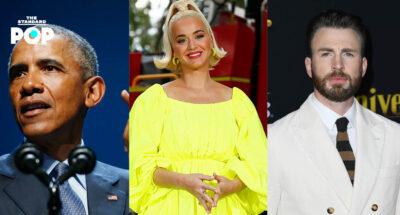 ครอบครัว-Obama-Katy-Perry-Chris-Evans