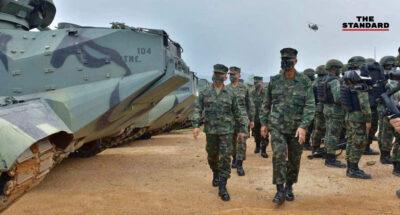 ผบ.ทร. กักตัว 14 วัน แม้เชื่อมโยงเป็นวงที่ 3 หลังร้อยโทหญิง สังกัดกองทัพไทย ร่วมฝึก ทร. ติดโควิด-19