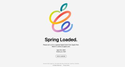 สัปดาห์หน้ารู้กัน Apple ประกาศจัดงาน 'Apple Event' 20 เมษายนนี้ สื่อคาดเปิดตัว iPad Pro ใหม่ และ AirTags