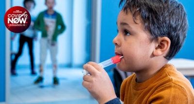 ออสเตรียใช้เครื่องมือ 'อมยิ้มตรวจโควิด-19' คัดกรองการติดเชื้อในเด็ก