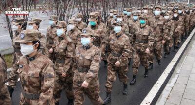 จีนพิจารณาร่างกฎหมาย ห้ามหมิ่นประมาททหาร