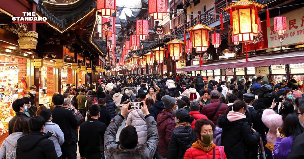 จีนคาดรายได้ท่องเที่ยวครึ่งปีแรก สูงแตะ 1.2 ล้านล้านหยวน