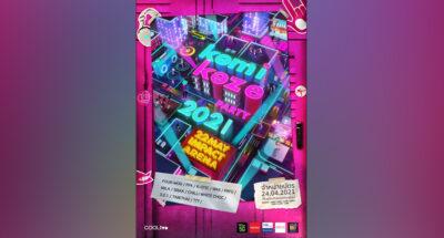 Kamikaze Party 2021 คอนเสิร์ตใหญ่ของศิลปินกามิกาเซ่ที่เราคิดถึงบน อิมแพ็ค อารีน่า 22 พฤษภาฯ นี้!