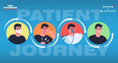 ติดโควิด-19 แล้วไปไหน รู้จัก Patient Journey: การเดินทางของผู้ป่วย และมาตรการระหว่างทาง