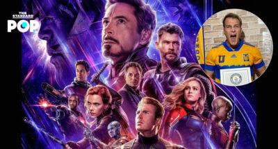 ฟิตเนสเทรนเนอร์จากฟลอริดาสร้างสถิติใหม่จากการชม Avengers: Endgame ในโรงภาพยนตร์ติดต่อกันมากที่สุดถึง 191 ครั้ง