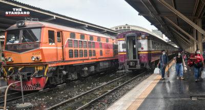 บรรยากาศที่สถานีรถไฟ 'หัวลำโพง' ก่อนโค้งสุดท้ายหยุดยาวเทศกาลสงกรานต์