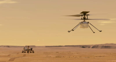 NASA ประสบความสำเร็จในการนำ 'เฮลิคอปเตอร์ขนาดเล็ก' ขึ้นบินบนดาวอังคาร
