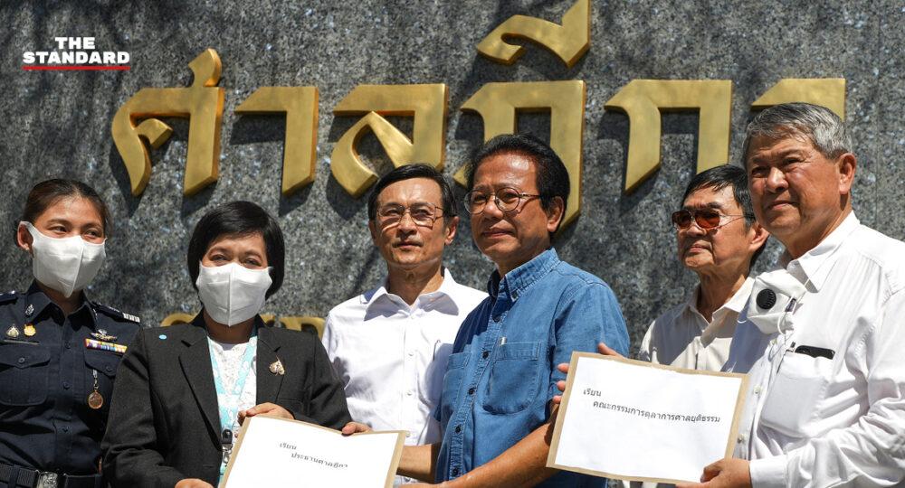 คนเดือนตุลา คัมแบ็กตั้งกลุ่ม OctDem หวังสังคมไทยไม่หวนคืนประวัติศาสตร์โหดร้าย ยื่นหนังสือขอศาลคืนสิทธิประกันตัว