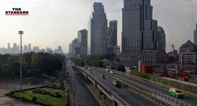 เช้าวันแรกของการทำงาน กรุงเทพฯ เงียบลงถนัดตา กับมาตรการ Work from Home เพื่อลดเสี่ยงโควิด-19