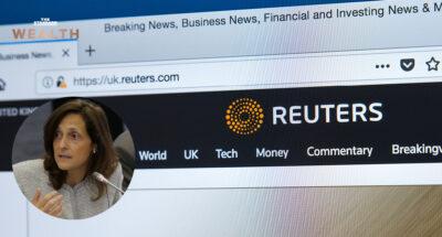ครั้งแรกในประวัติศาสตร์องค์กร 170 ปี สำนักข่าว Reuters ตั้ง 'ผู้หญิง' ขึ้นรั้งตำแหน่ง 'บรรณาธิการบริหาร' คนใหม่