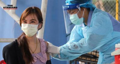 ไทยฉีดวัคซีนป้องกันโควิด-19 เข็มแรก คิดเป็น 0.77% ของประชากร ตามหลังกัมพูชาและเมียนมา