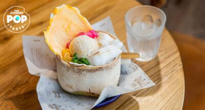 'ทองสวีท' ร้านขนมหวานจากทองสมิทธ์ เด่นที่ไอศกรีมและกล้วยทอด