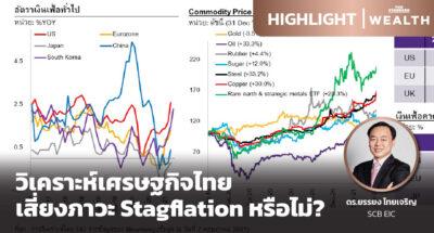 วิเคราะห์เศรษฐกิจไทย เสี่ยงภาวะ Stagflation หรือไม่?