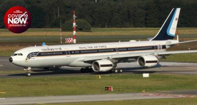 กองทัพอากาศเชิญสิ่งของพระราชทานเครื่องผลิตออกซิเจน ช่วยเหลือชาวอินเดีย และรับคนไทยเดินทางกลับ