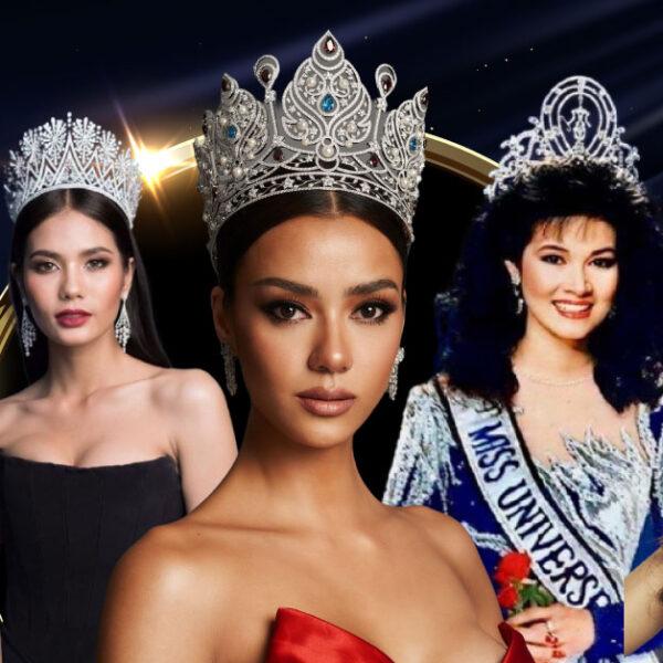 ย้อนสถิติ 10 ปีล่าสุด นางงามไทยเดินทางใกล้ 'มงกุฎ' Miss Universe แค่ไหน
