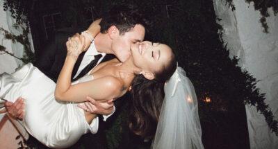 Ariana Grande ภาพงานแต่งงาน