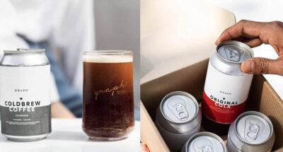 ดับร้อนด้วยกาแฟสกัดเย็นและคราฟต์โคล่าแบบกระป๋องส่งตรงถึงบ้านจาก GRAPH coffee co