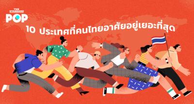 10 ประเทศที่คนไทยอาศัยอยู่เยอะที่สุด