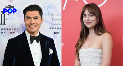 Henry Golding และ Dakota Johnson