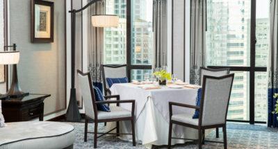 The Athenee Hotel ผุดไอเดีย 'Dinecation' เปิดห้องพักพร้อมมื้อไพรเวตในห้องได้เลย