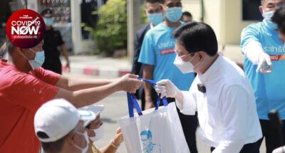 ประชาธิปัตย์ เริ่มโครงการ 'ข้าวกล่องเดลิเวอรี 40,000 กล่อง-ถุงยังชีพออนไลน์' ส่งตรงถึงบ้านแล้วที่ชุมชนหลักสี่