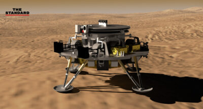 ยานอวกาศจีนลงจอดบน 'ดาวอังคาร' สำเร็จ เป็นครั้งแรกในประวัติศาสตร์ชาติจีน