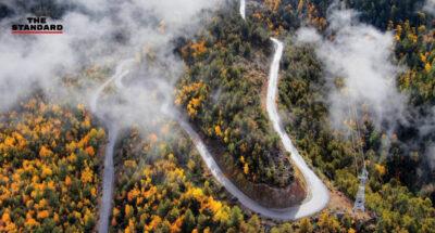 Yarlung Zangbo Grand Canyon highway