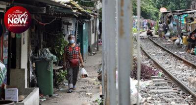 ชุมชนโค้งรถไฟยมราช พื้นที่สีแดงโควิด-19 กับชีวิตเสี่ยงโรคและทำมาหากินไม่ได้