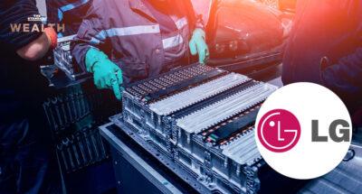 โรงงานผลิตแบตเตอรี่สำหรับรถยนต์ไฟฟ้า LG