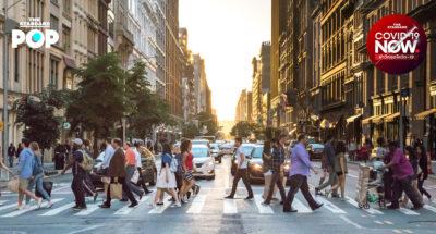 ชาวนิวยอร์ก ซิตี้ กำลังกลับมาใช้ชีวิตปกติ หลังทุกกิจการสามารถเปิดเต็มรูปแบบอีกครั้ง 19 พ.ค. นี้