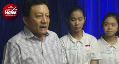 สุนทร จารุมนต์ นายกสมาคมกีฬาบิลเลียดแห่งประเทศไทย ตรวจพบเชื้อโควิด-19