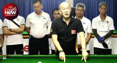 ต่าย พิจิตร เฮดโค้ชบิลเลียดทีมชาติไทย ตรวจพบเชื้อโควิด-19