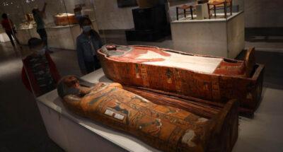 นักวิจัยโปแลนด์พบ 'มัมมี่อียิปต์ท้องแก่' ครั้งแรกในโลก