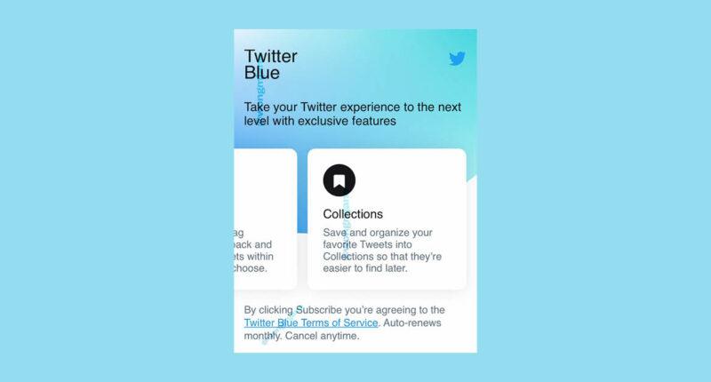 Twitter จ่อเปิดตัว 'Twitter Blue' เล่นทวิตเตอร์แบบจ่ายรายเดือน 100 บาท ใช้ฟีเจอร์พิเศษ และ 'Undo Tweets' ได้