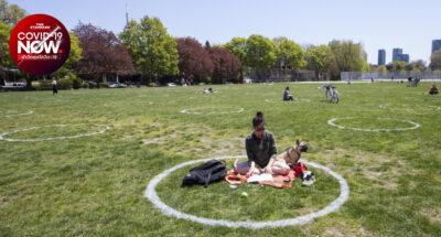 สวนสาธารณะ แคนาดา วงกลมสีขาว