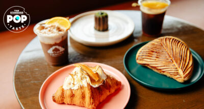 Yuzu Croissant (150 บาท) และ Chausson Aux Pommes (150 บาท)