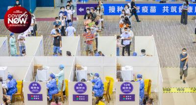 จีนฉีดวัคซีนโควิด-19 ไปแล้วเกิน 1,000 ล้านโดส มากที่สุดในโลกในเชิงปริมาณ