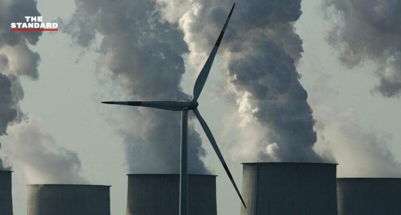 คาร์บอนไดออกไซด์สะสมในชั้นบรรยากาศ
