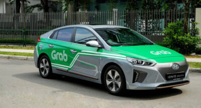 Grab Hyundai เช่า รถยนต์ไฟฟ้า