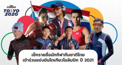 นักกีฬาทีมชาติไทย