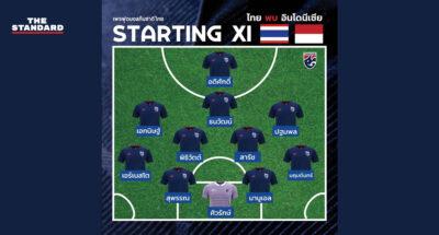 ทีมชาติไทยพบอินโดนีเซีย