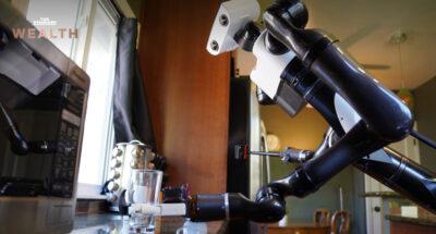 หุ่นยนต์ ทำความสะอาด
