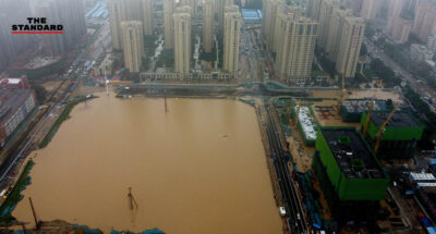 น้ำท่วมในจีน