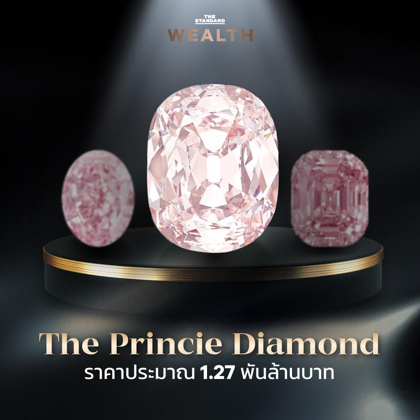 The Princie Diamond ราคาประมาณ 1.27 พันล้านบาท