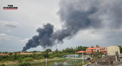 ไฟไหม้โรงงานกิ่งแก้ว