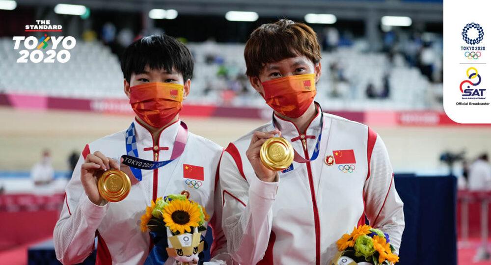 เปาชานจู (Bao Shanju) และ จงเทียนฉี (Zhong Tianshi)