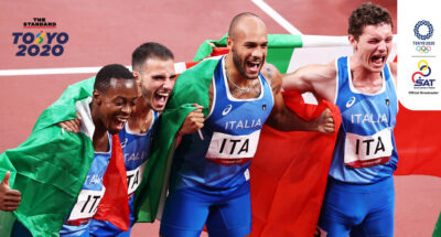 Italian relay team