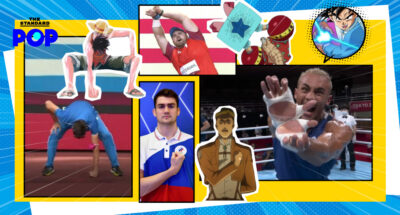 anime with olympic athletes