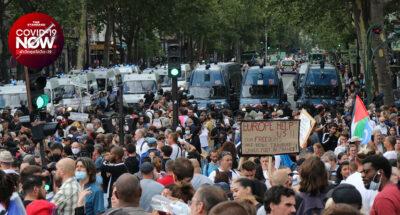 ฝรั่งเศสประท้วง